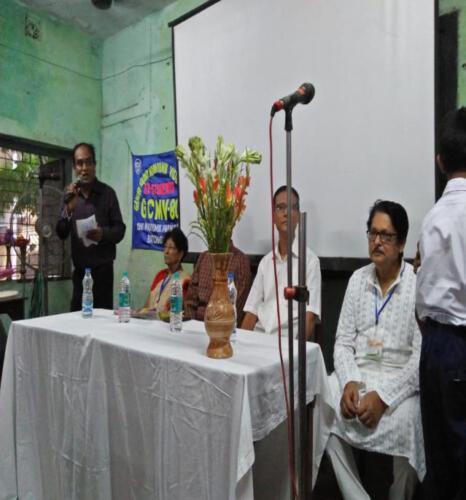Awareness Campaign at Gandhi Colony Madhyamik Vidyalaya (HS) at South Kolkata
